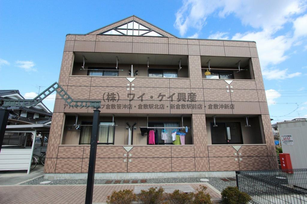 岡山県倉敷市、倉敷駅バス15分小溝下車後徒歩20分の築11年 2階建の賃貸アパート