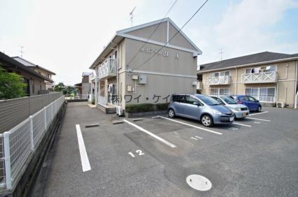 岡山県倉敷市、中庄駅徒歩50分の築22年 2階建の賃貸アパート