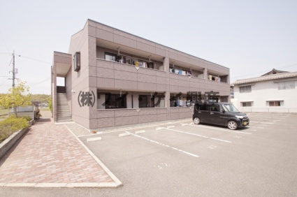 岡山県倉敷市、川辺宿駅徒歩23分の築13年 2階建の賃貸アパート