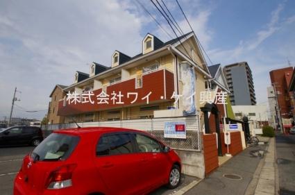 岡山県倉敷市、中庄駅徒歩53分の築26年 2階建の賃貸アパート