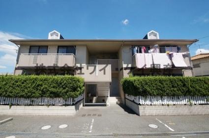 岡山県倉敷市、倉敷駅バス13分大高下車後徒歩5分の築22年 2階建の賃貸アパート