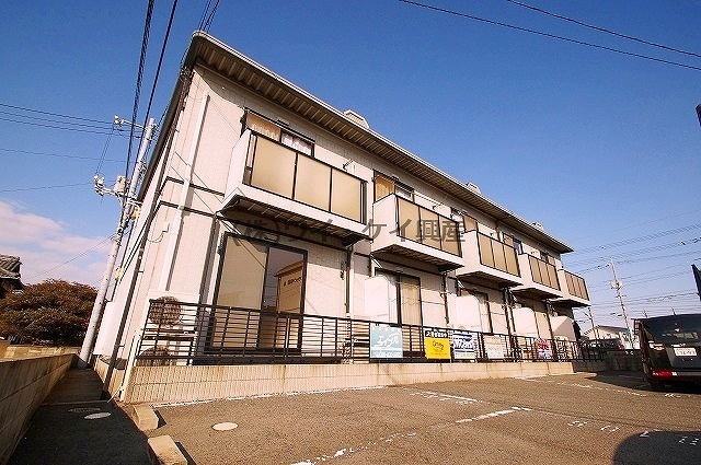岡山県倉敷市、倉敷駅バス15分倉敷下車後徒歩1分の築17年 2階建の賃貸アパート