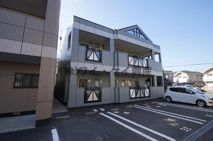 岡山県倉敷市、倉敷駅徒歩23分の築18年 2階建の賃貸アパート