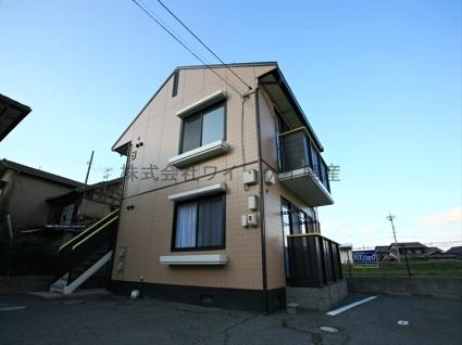 岡山県倉敷市、茶屋町駅徒歩59分の築20年 2階建の賃貸アパート