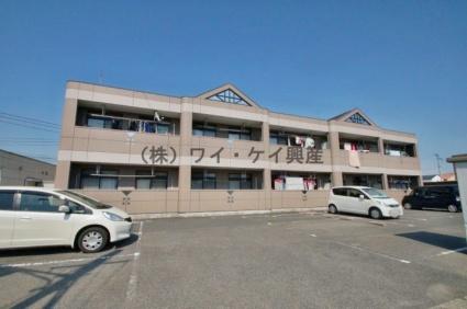岡山県総社市、東総社駅徒歩25分の築16年 2階建の賃貸アパート