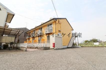 岡山県倉敷市、栄駅徒歩22分の築29年 2階建の賃貸アパート