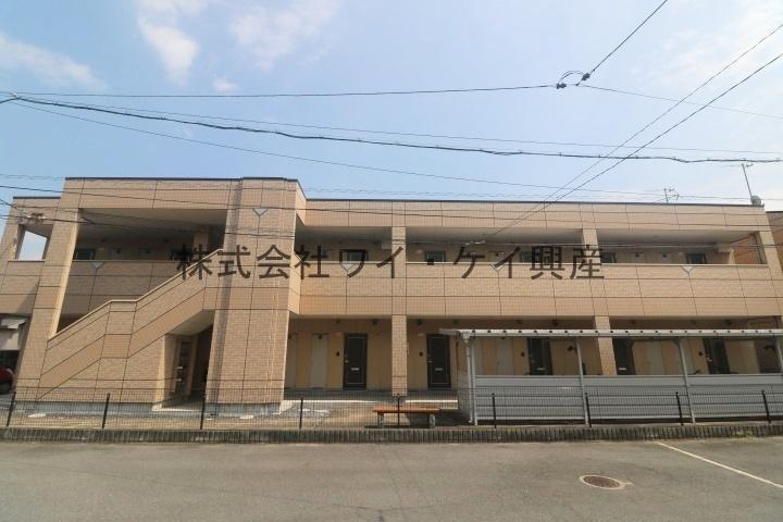 岡山県倉敷市、三菱自工前駅徒歩35分の築10年 2階建の賃貸アパート