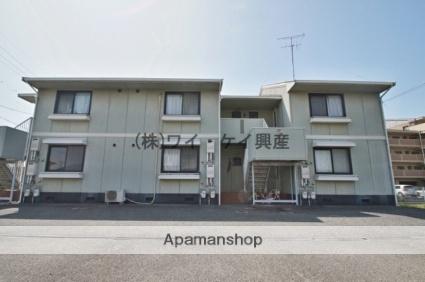 岡山県倉敷市、倉敷駅徒歩9分の築27年 2階建の賃貸アパート
