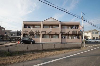 岡山県倉敷市、倉敷駅徒歩32分の築20年 2階建の賃貸アパート
