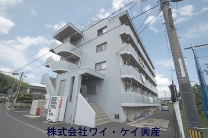 岡山県倉敷市、西阿知駅徒歩41分の築19年 4階建の賃貸マンション