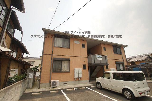 岡山県総社市、東総社駅徒歩10分の築12年 2階建の賃貸アパート