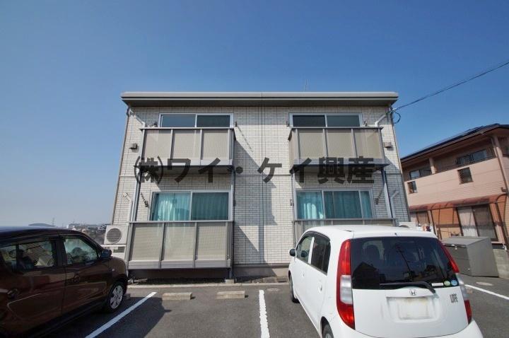 岡山県倉敷市、新倉敷駅徒歩17分の築9年 2階建の賃貸アパート