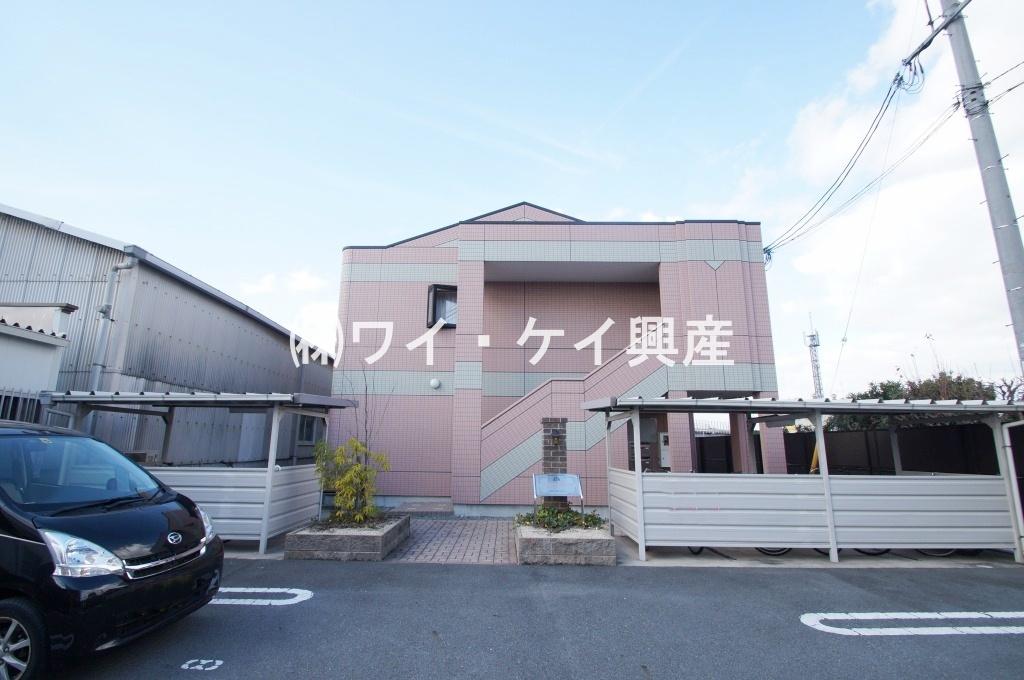 岡山県倉敷市、西阿知駅徒歩23分の築9年 2階建の賃貸アパート