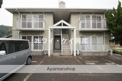 岡山県倉敷市、彦崎駅徒歩25分の築25年 2階建の賃貸アパート