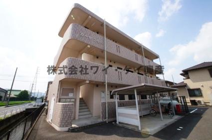 岡山県総社市、東総社駅徒歩27分の築10年 3階建の賃貸マンション