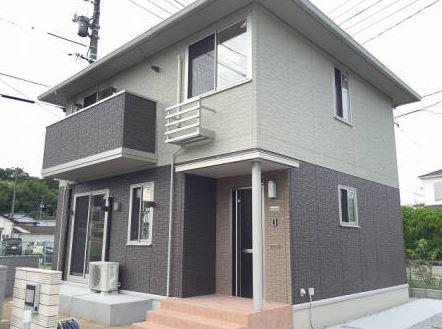 岡山県倉敷市、上の町駅徒歩20分の築2年 2階建の賃貸一戸建て