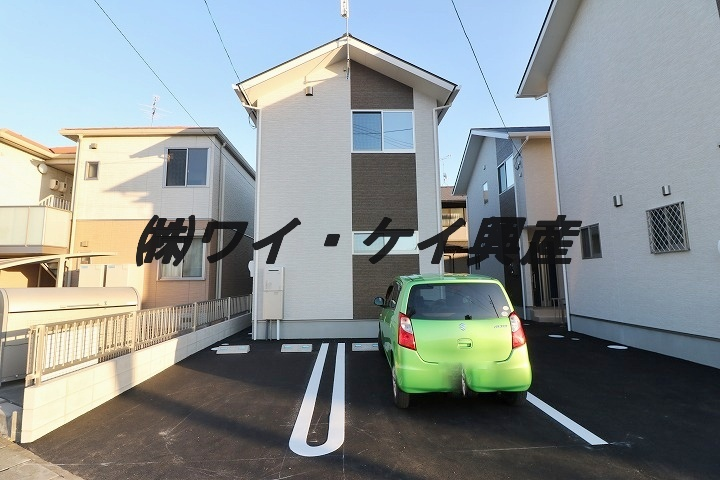 岡山県倉敷市、西阿知駅徒歩8分の新築 2階建の賃貸一戸建て