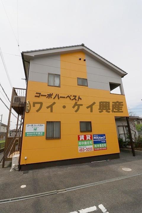 岡山県倉敷市、中庄駅徒歩17分の築17年 2階建の賃貸アパート