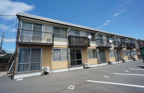 岡山県倉敷市、庭瀬駅徒歩47分の築27年 2階建の賃貸アパート