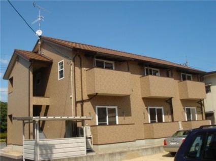 岡山県倉敷市、栄駅徒歩12分の築10年 2階建の賃貸アパート