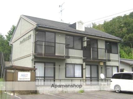 岡山県岡山市北区、備前原駅徒歩50分の築23年 2階建の賃貸アパート
