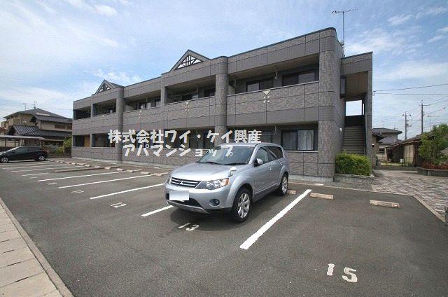 岡山県倉敷市、倉敷駅バス25分南緑町下車後徒歩5分の築11年 2階建の賃貸アパート