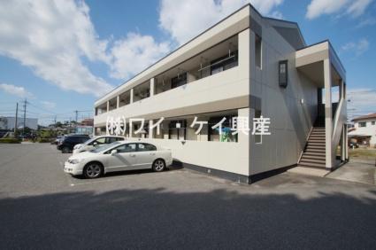 岡山県倉敷市、倉敷駅下電バスバス8分東町下車後徒歩5分の築17年 2階建の賃貸アパート