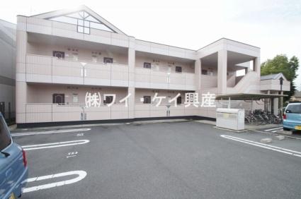 岡山県倉敷市、倉敷駅徒歩21分の築17年 2階建の賃貸アパート