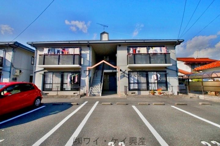 岡山県総社市、東総社駅徒歩4分の築21年 2階建の賃貸アパート