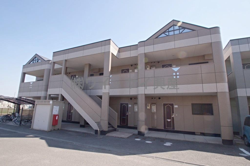 岡山県倉敷市、倉敷駅徒歩24分の築18年 2階建の賃貸アパート