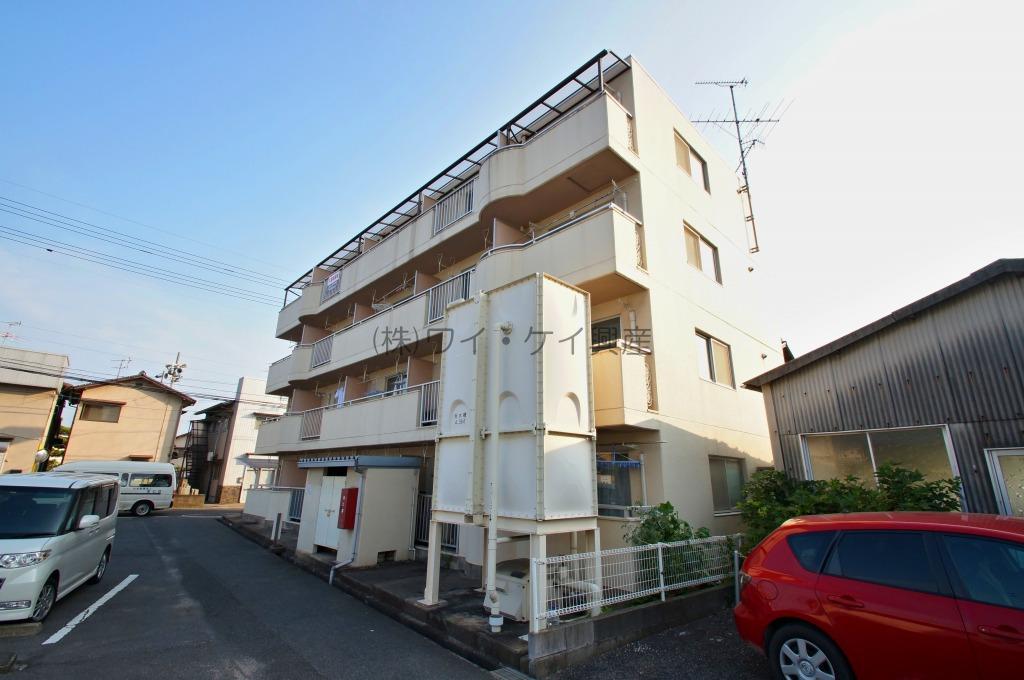 岡山県倉敷市、倉敷駅徒歩23分の築24年 4階建の賃貸マンション