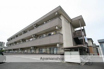 岡山県岡山市北区、岡山駅徒歩35分の築17年 3階建の賃貸マンション
