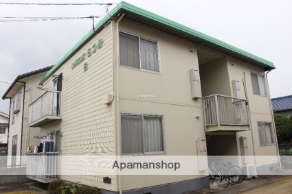 広島県福山市、松永駅徒歩15分の築29年 2階建の賃貸アパート