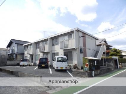 広島県府中市、新市駅徒歩20分の築30年 2階建の賃貸アパート