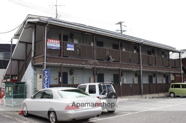 広島県福山市、松永駅徒歩13分の築26年 2階建の賃貸アパート