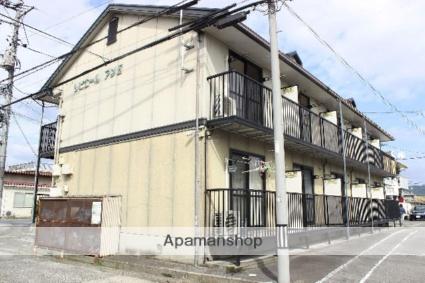 広島県府中市、新市駅徒歩27分の築27年 2階建の賃貸アパート
