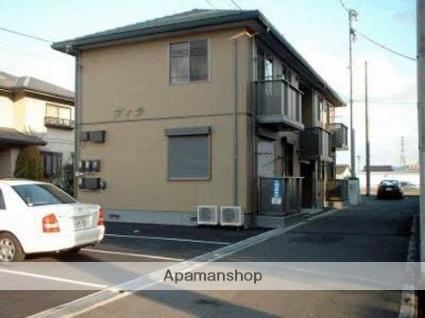 広島県府中市、新市駅徒歩13分の築14年 2階建の賃貸アパート