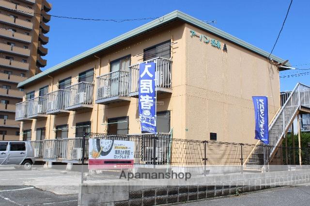 広島県福山市、備後赤坂駅徒歩63分の築30年 2階建の賃貸アパート