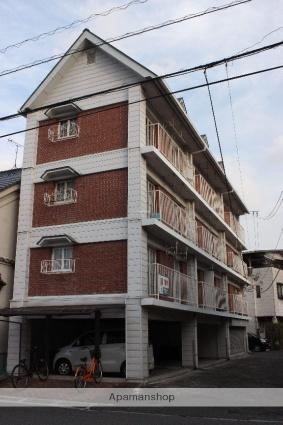 広島県府中市、鵜飼駅徒歩17分の築40年 4階建の賃貸マンション