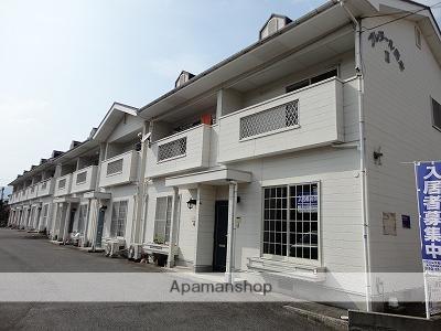 広島県府中市、新市駅徒歩27分の築20年 2階建の賃貸アパート