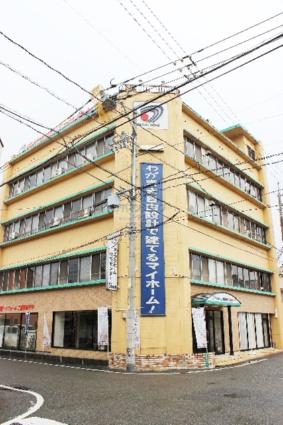広島県福山市、福山駅徒歩15分の築49年 4階建の賃貸マンション