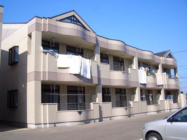広島県福山市、東福山駅徒歩49分の築17年 2階建の賃貸アパート