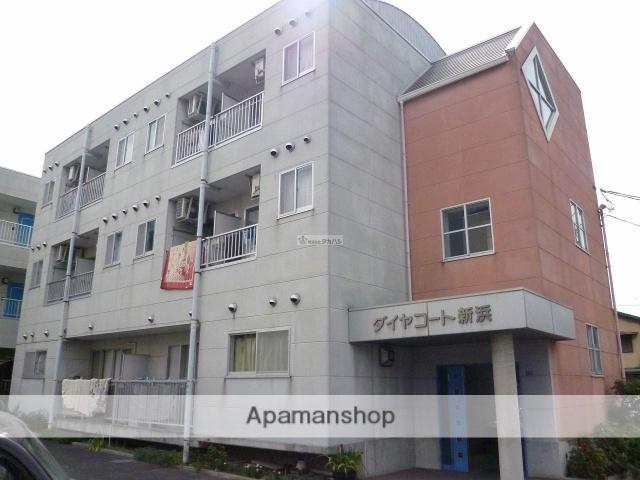 広島県尾道市、新尾道駅徒歩50分の築23年 3階建の賃貸マンション