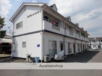 広島県府中市、高木駅徒歩9分の築23年 2階建の賃貸アパート