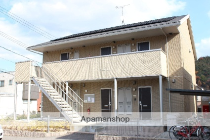 広島県尾道市、尾道駅徒歩27分の築6年 2階建の賃貸アパート