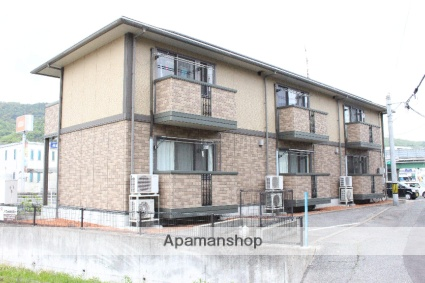 広島県尾道市、新尾道駅徒歩12分の築12年 2階建の賃貸アパート