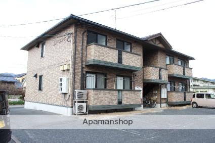 広島県三原市、三原駅芸陽バスバス10分警察署前下車後徒歩7分の築15年 2階建の賃貸アパート