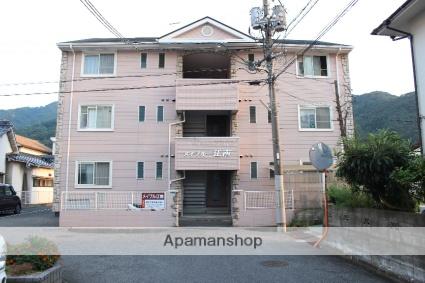広島県三原市、三原駅徒歩25分の築21年 3階建の賃貸アパート