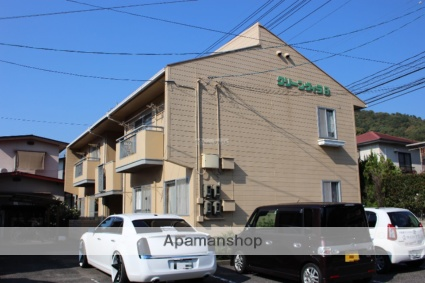 広島県尾道市、新尾道駅おのみちバスバス8分三成下車後徒歩12分の築29年 2階建の賃貸アパート