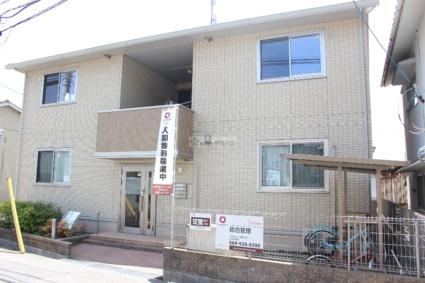 広島県尾道市、新尾道駅徒歩12分の築6年 2階建の賃貸アパート